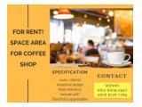 DISEWAKAN RUANG KANTOR DAN AREA COFFEE SHOP THE PREMIERE CORPORATION KELAPA GADING