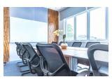BEST DEAL SEWA Ruang Kantor Furnished Slipi-Senayan! Mulai 2,4 jt/Ruangan